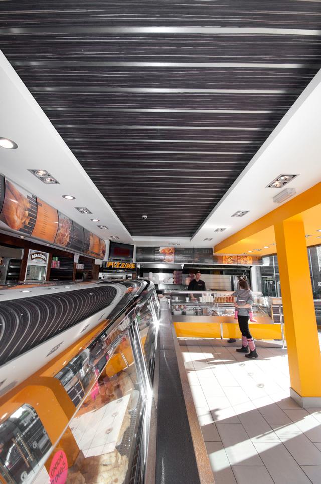 corbie fish and chips interior design